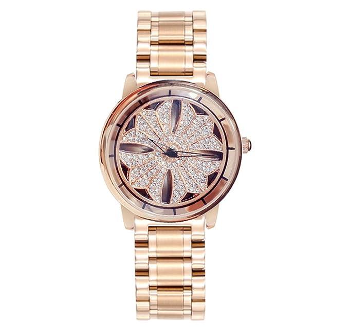 Reloj para mujer 2018 Reloj para mujer con correa de acero Reloj para mujer Reloj para