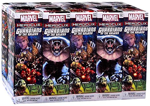 【在庫処分】 Marvel HeroClix: Marvel Guardians of the Brick Galaxy Booster Brick (10) HeroClix: B00IR7AIS2, ブランドストアーST:cd7e799c --- a0267596.xsph.ru