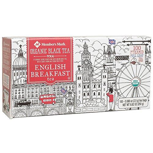 Member's Mark Organic English Breakfast Tea (100 c