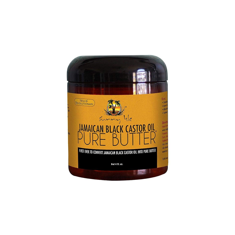 Sunny Isle Pure Butter - Aceite de ricino jamaiquino, color negro: Amazon.es: Salud y cuidado personal