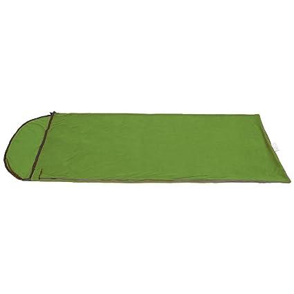 SehrGo Ligero Micro forro polar saco de dormir de verano o maletero en invierno y manta