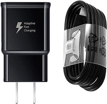 Amazon.com: Cargador rápido compatible con Samsung Galaxy S9 ...