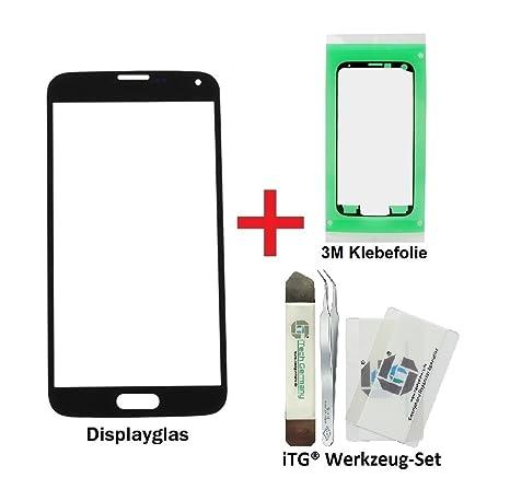 iTG® PREMIUM Displayglas Reparatur-Set für Samsung Galaxy S5 ...