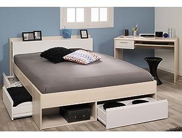 Expendio Jugendzimmer Morris 61 Akazie Bett 140x200