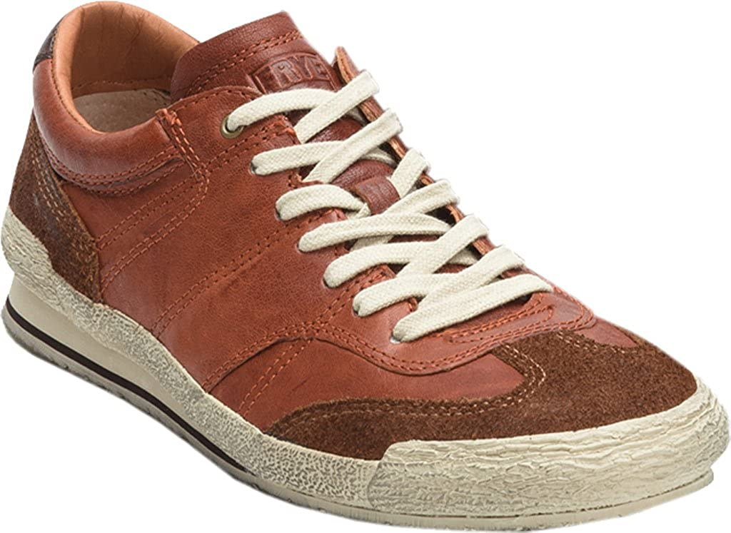 Frye Men's Snyder Runner Sneaker Cognac Leather US 8 M 3481446-COG