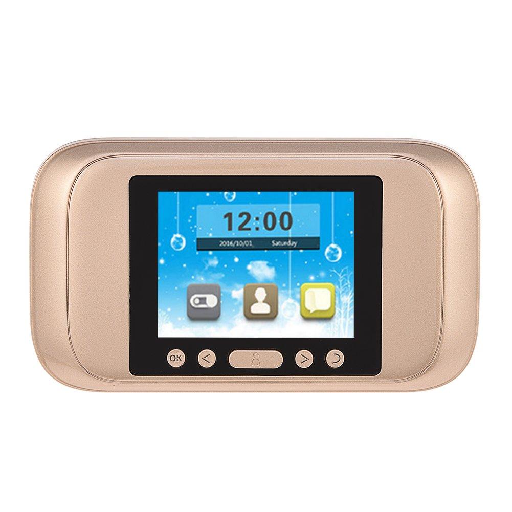 Richer-R Mirilla Digital de Puerta,720P Timbre Video HD ,Cámara Timbre 160° para Seguridad del Hogar (3.2 Inch Pantalla LCD HD, Visión Nocturna IR) Visión Nocturna IR)