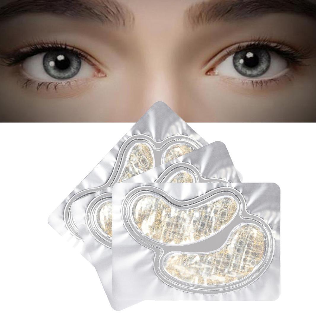 Amazon.com: inkach Colágeno Máscara de ojo vidrio Ojos Gel ...
