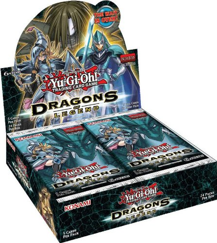 YuGiOh - Dragons of Legend Booster Box by Yu-Gi-Oh!