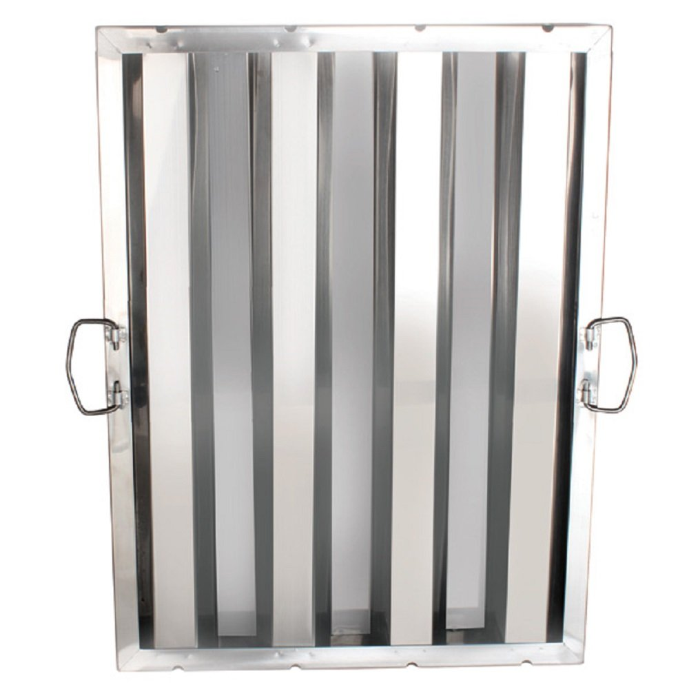 (6) FILTER STAINLESS STEEL HOOD GREASE FILTERS DIFFERENT SIZES RESTAURANT 6 PACK (16'' X 25'')