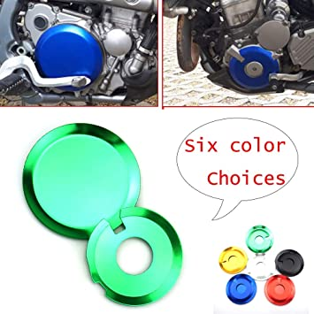 CNC Engine Clutch Case Covers Guards For Kawasaki KLX400 Suzuki DRZ400 S SM E