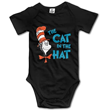 3a1b8f55f Amazon.com: Vogt Dr Seuss The Cat in The Hat Unisex Baby Onesies: Clothing