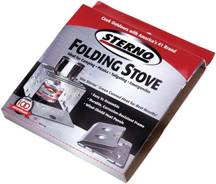 Sterno Single Burner Folding Stove – 50002