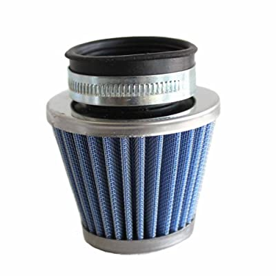 Poweka 00084 Blue New 39mm Air Filter Gy6 Moped Scooter ATV Dirt Bike Motorcycle 50cc 110cc 125cc 150cc 200cc: Automotive