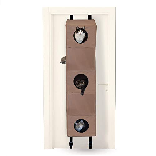 K&H-Pet-Products-Hangin'-Cat-Condo-Tan