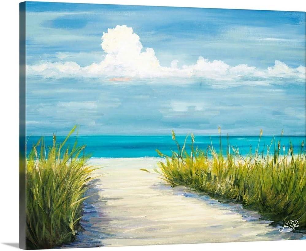 Amazon Com Beach Scene I Canvas Wall Art Print 30 X24 X1 25 Posters Prints
