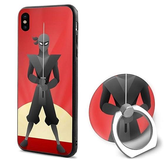 Amazon.com: Colorful Ninja Warrior Background Flexible ...