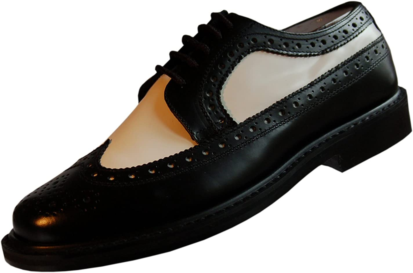 Emanuel Two Tone Loafer Black /& White Belvedere