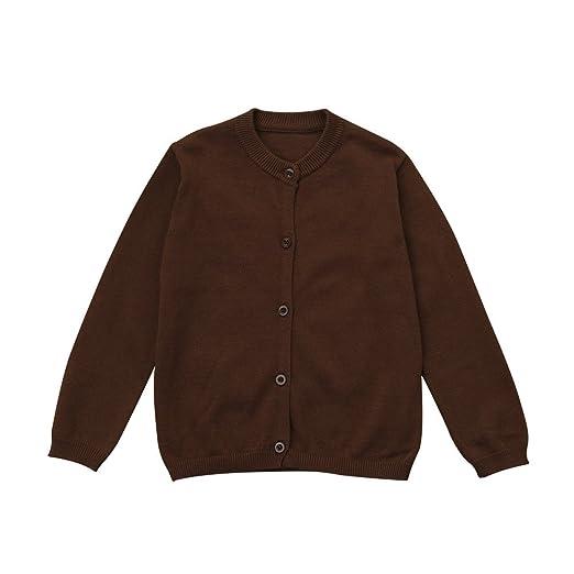 4d9566f66033 Amazon.com  ❤ Mealeaf ❤ Toddler Kid Boys Girls Coat Knitted ...