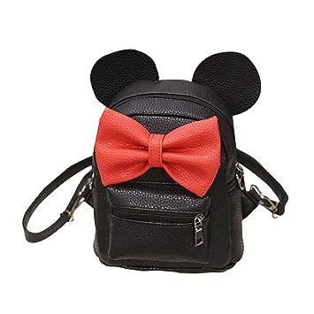 Mochila de Piel sintética para Mujer con diseño de Mickey: Amazon.es: Hogar