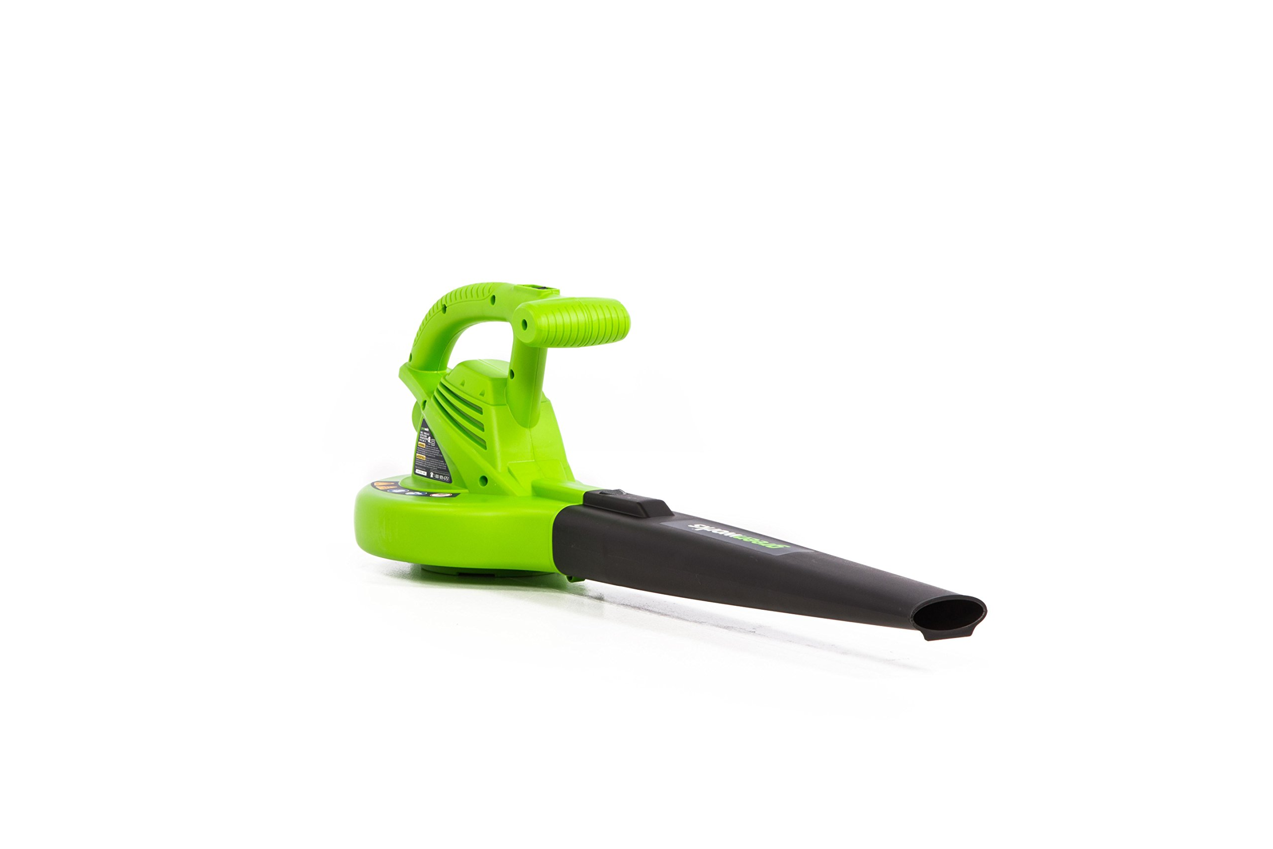 Greenworks 24012 7 Amp Single Speed Electric 160 MPH Blower by Greenworks