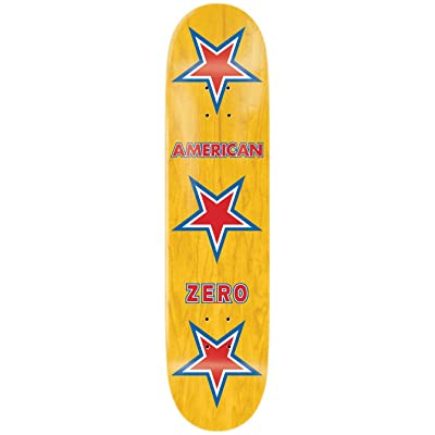Zero American R7 Plateau de Skateboard Mixte Adulte, Multicolore