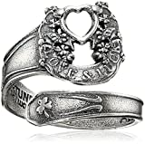 Alex and Ani Spoon Ring, Fortune's Favor Sterling Silver Bangle Bracelet