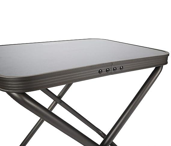 Westfield Kobold 2-in-1 faltbar Camping Hocker mit Abnehmbarer Tischplatte blau Textil
