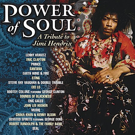 Power Of Soul - A Tribute To Jimi Hendrix (140 Gram Vinyl) by Classic Compact Disc
