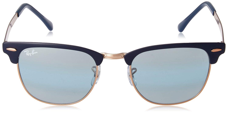Amazon.com: Ray-Ban Clubmaster - Gafas de sol (metal ...