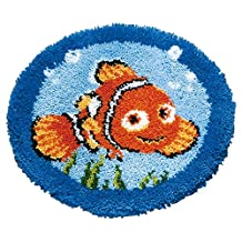 Disney's Finding Nemo 'Nemo' Shaped Rug Latch Hook Kit