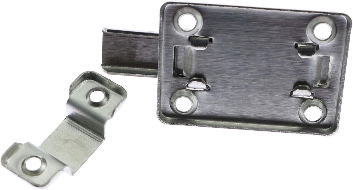 Stainless Steel Door Lock Bolt Catch Latch Slide For Bathroom Toilet Bedroom I9Z