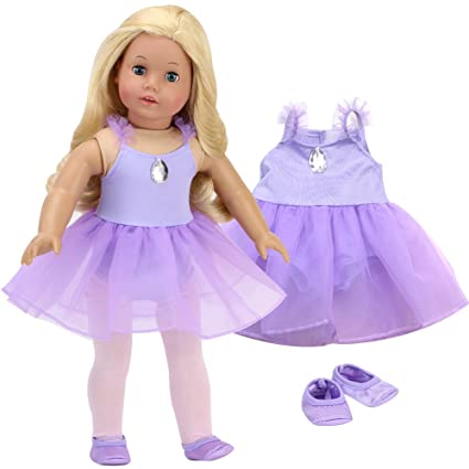 """Clothing to fit 18/"""" American Girl Dolls 05a Swimsuit Gymnastics Dance Leotards"""