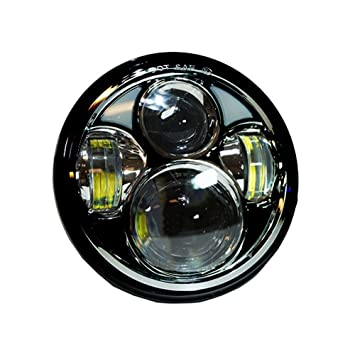 iimono117 LEDヘッドライト 5.6インチ 50W ホワイト / ヘッドライトキット ハーレーダビッドソン ジープラングラー