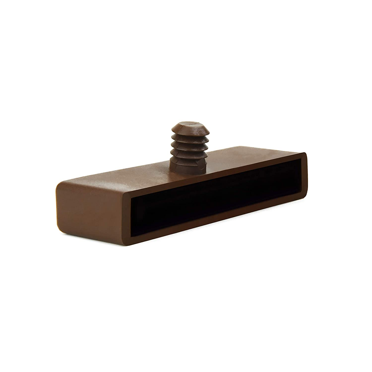 70mm Bed Slat Holders Caps for Wooden Frames 1 Prong (Pack of 10) The Bed Slats Company