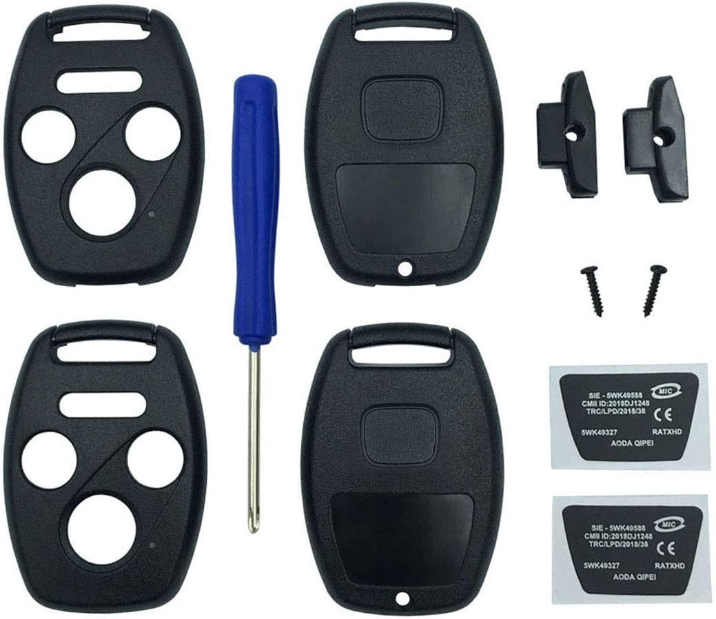 1x Replacement Keyless Entry Remote Control Key Fob Case Fit for Honda S00 CR-V