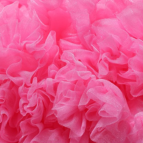 Tulle Petticoat Underskirt Courte Rockabilly Jupe Petticoat Rose en Mid Rock Vintage Femme nYZx8qpwHW