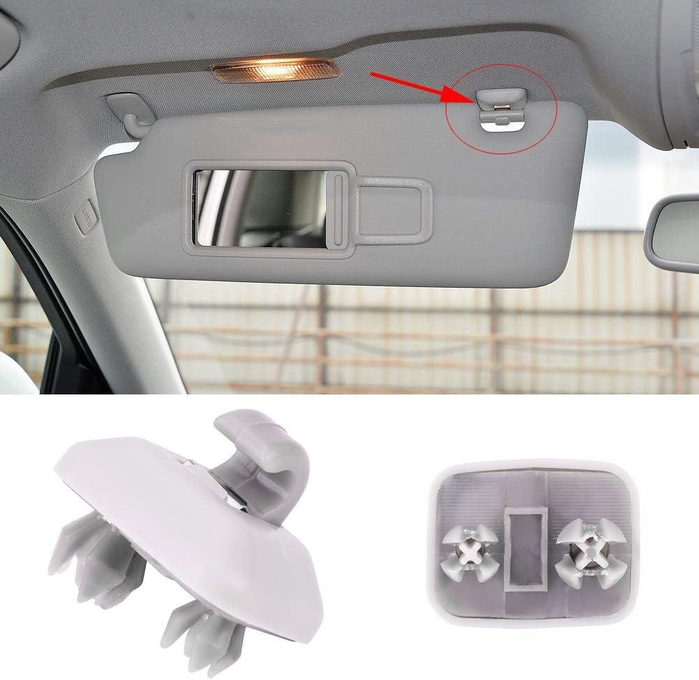 Universal Sun Visor Hook Inner Use Workable To Audi A1 A3 S3 A4 S4 A5 S5 Q3 Q5 TT Quattro 8E0857562A