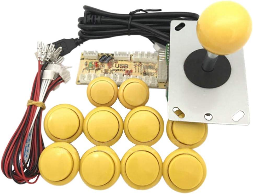 Henan Arcade Joystick DIY Kit Zero Delay USB Codificador a PC PS3 Sanwa Botones