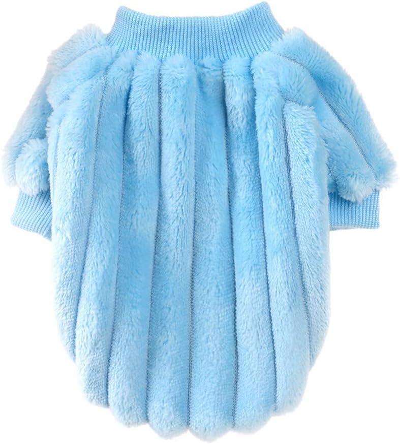 LOYY Small Dog Sweater Girl for Autumn Winter Warm Coat Puppy Knitting Costume Plaid Dog Thickening Sweater Puppy Sweaters Winter