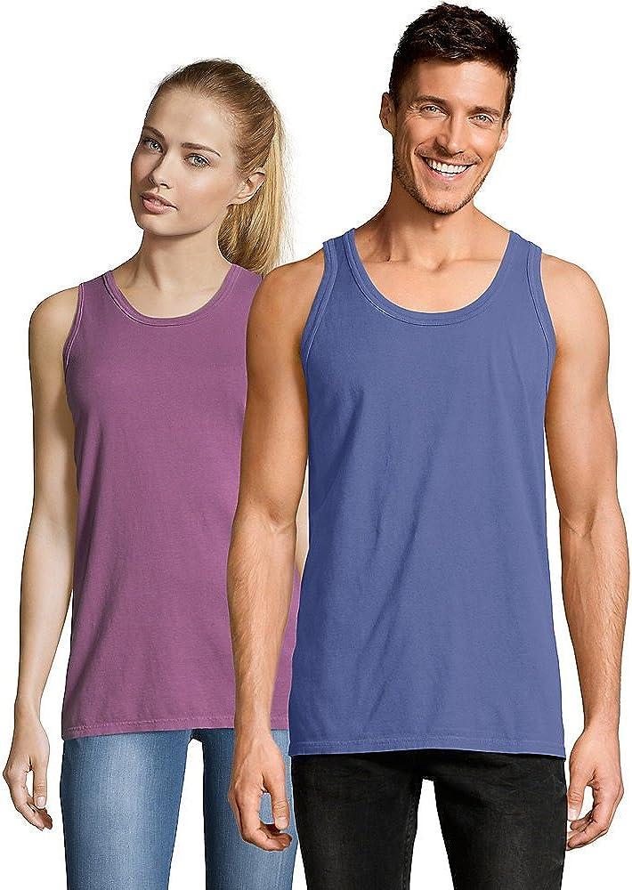 Hanes Adult ComfortWash Garment Dyed Sleeveless Tank Top