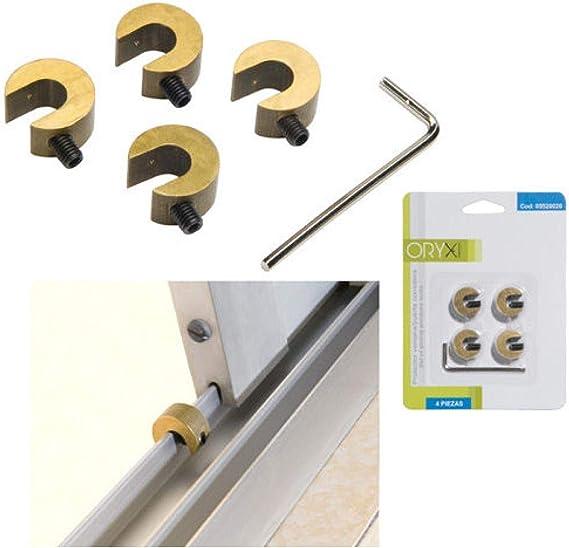 ORYX 5520020 Protector Puertas/Ventanas Correderas (Blister 4 Piezas): Amazon.es: Hogar