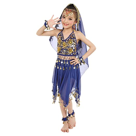 056d9fc0c156 Baby Dance Dresses, Inkach Kids Girls Belly Dance Chiffon Dresses Egypt  Dance Outfit Costume Clothing