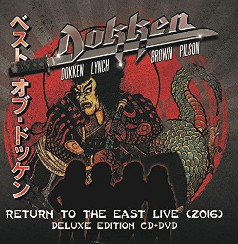 CD : Dokken - Return To The East Live 2016