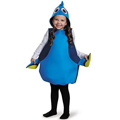 Disguise Dory Classic Finding Dory Disney/Pixar Costume, One Size Child, One Color: Toys & Games