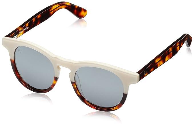 Wolfnoir, HATHI BICOME W - Gafas De Sol unisex multicolor (blanco/carey/plata), talla única