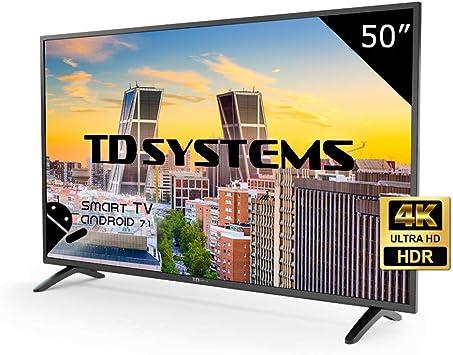TD Systems K50DLM8US - Televisor Led 50 Pulgadas Ultra HD 4K ...