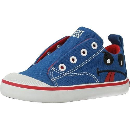 Zapatillas para niño, Color Azul, Marca GEOX, Modelo Zapatillas para Niño GEOX B Kiwi Boy Azul: Amazon.es: Zapatos y complementos
