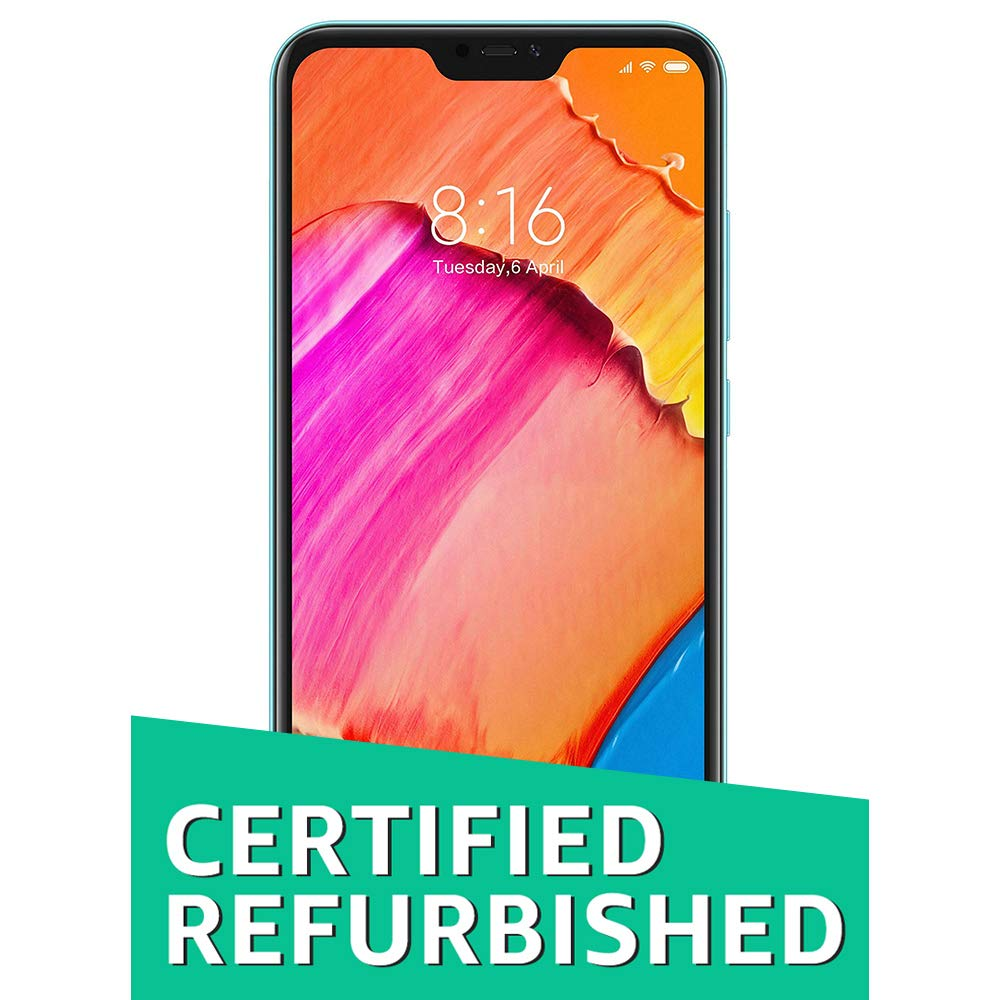 (CERTIFIED REFURBISHED) Redmi 6 Pro (Blue, 3GB RAM, 32GB Storage)
