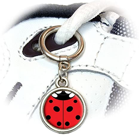 Lady Bug Jibbitz Shoe Charms