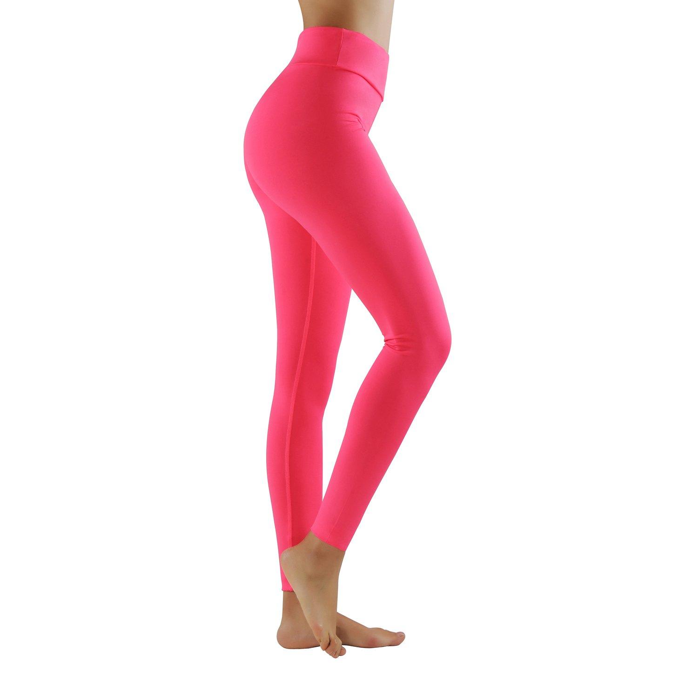 GoVIA Legging pour femme Pantalon de course à pied Pantalon de sport  respirant Pantalon de Yoga Fitness Taille haute ... 587e5db4983